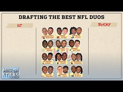 Who Has the Best Duo of Offensive Players? | Move the Sticks | NFL