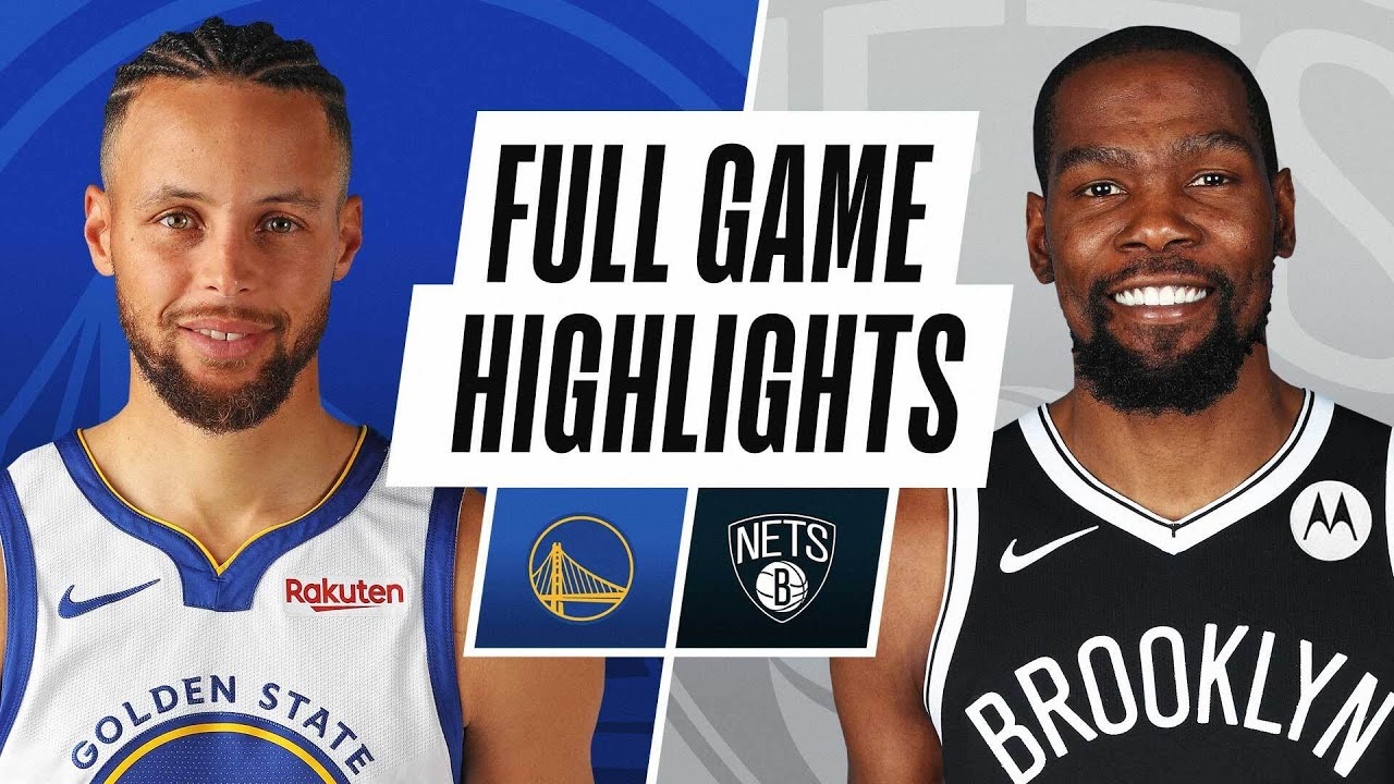 WARRIORS at NETS | FULL GAME HIGHLIGHTS | December 22, 2020