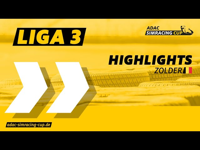 ADAC SimRacing Cup Liga 3 - Highlights Rennen 7 & 8 in Zolder