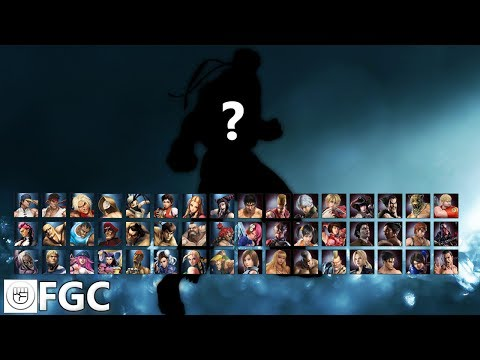 Fighting Games 101 - Character Select Screen