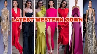 Latest Western Gown/most Beautiful And Outstanding Unique And Different Gown