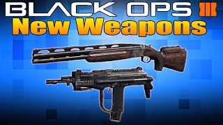 New Weapons in Black Ops 3: XMC and Olympia (MSMC New DLC Guns)