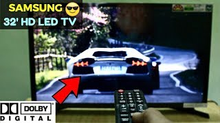 "[HINDI] Unboxing & Review Of SAMSUNG 32"" inch HD LED TV 