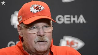Chiefs' coach Andy Reid on Mahomes' injury, Watkins' outstanding performance