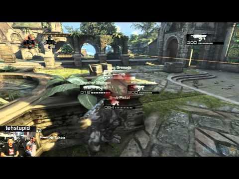 Gears of War 3 - Brobot Battle - Mercy Execution tehstupid