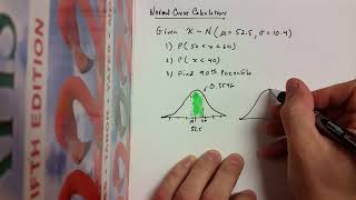 Basic Normal Distribution Calculations with TI-84 Plus CE Calculator