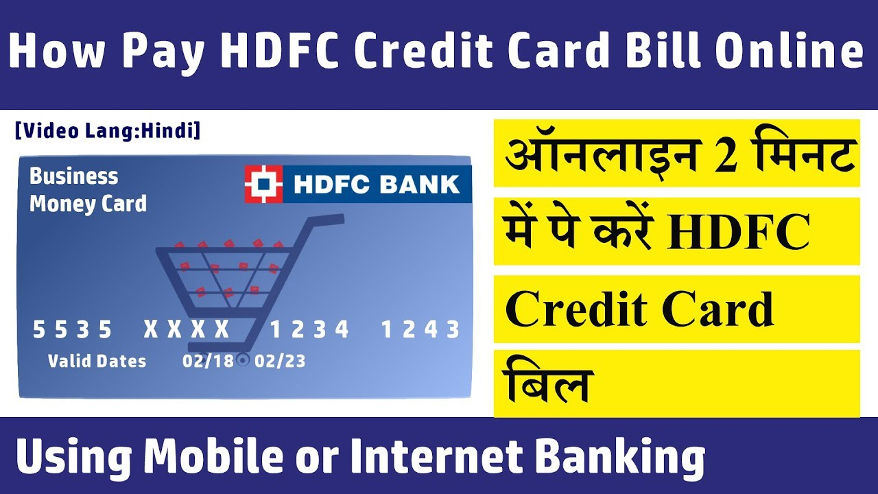 Pay smart bill online using credit card