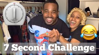 7 Second Challenge With Shavonn & Monroe