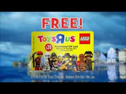 Free LEGO Gift Card only at Toys R Us! - YouTube