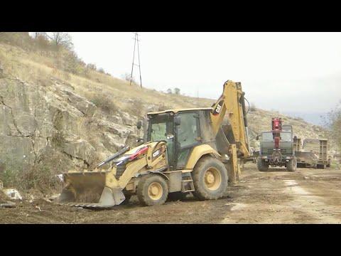В Нагорном Карабахе начали восстанавливать инфраструктуру, разрушенную из-за боевых действий.