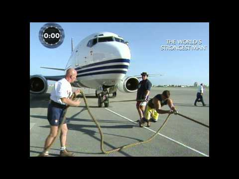 The World's Strongest Man Classics 1999: Finland dominates the Plane Pull