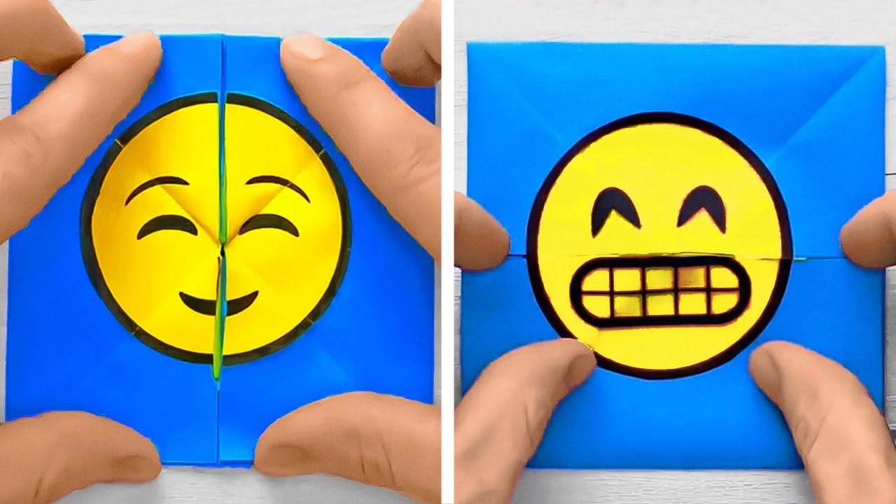Fun And Cute Paper Crafts And Tricks