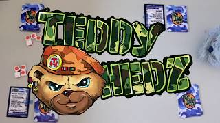Teddy Hedz Card Game Play Through