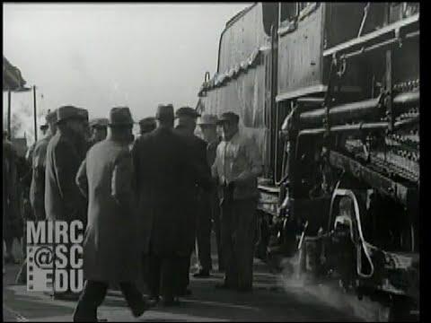 New York Central Locomotive Engineer Retires, November 30, 1929