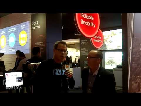 ISE 2016: Gary Kayye Interviews Colin Boyle, Product Marketing Specialist, for Canon