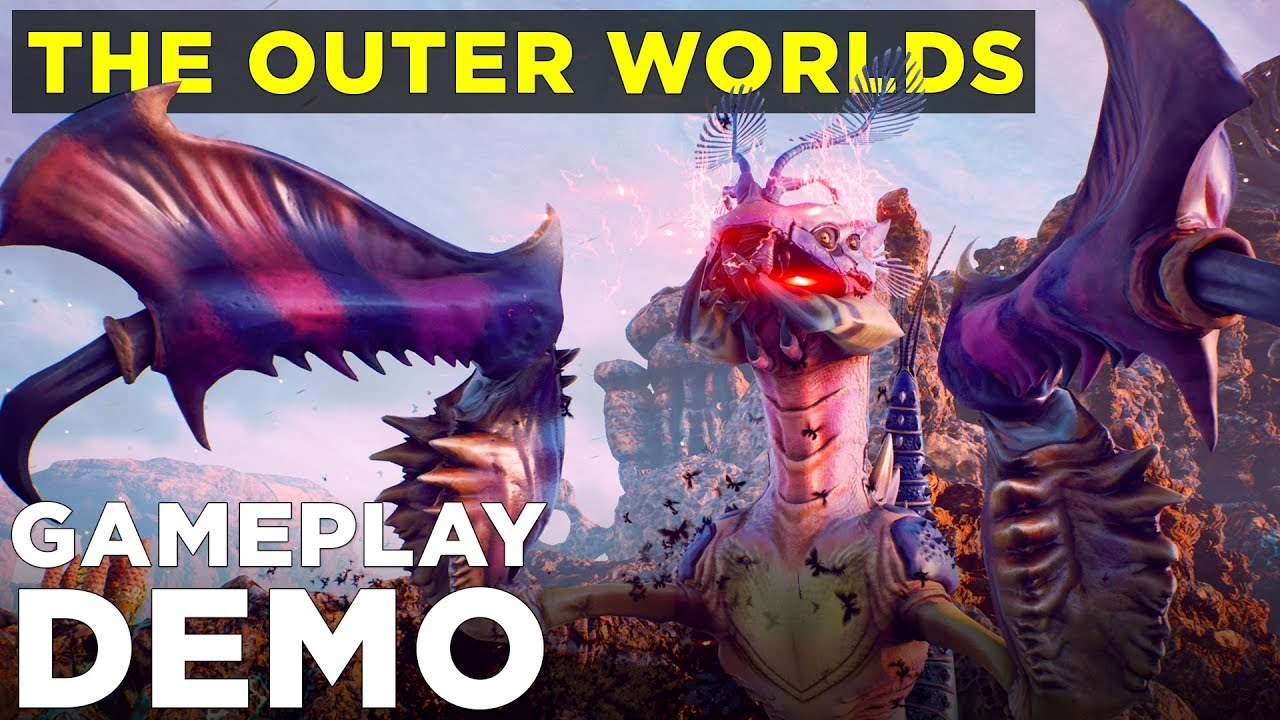 The Outer Worlds: New gameplay demo video - Polygon