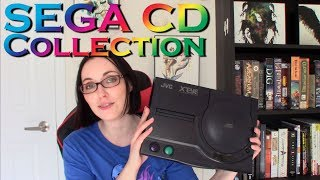 JVC X'Eye and my Sega CD Game Collection