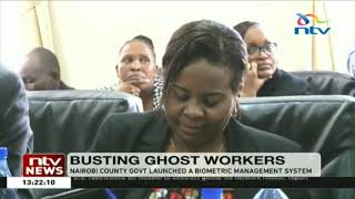 Nairobi county launches biometric management system to identify ghost workers