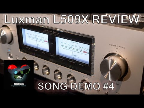 Luxman L509X Integrated HiFi Amplifier Review Song Demo #4 + Chord Qutest KEF Reference JPlay