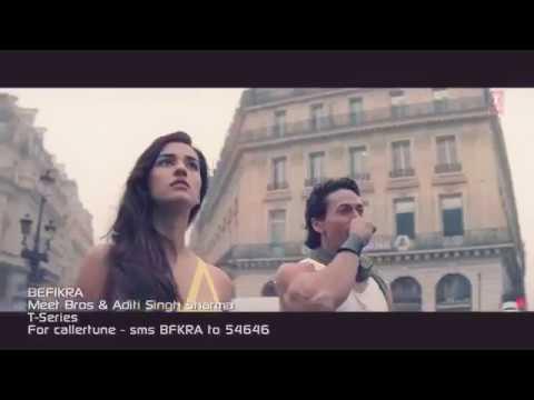 Befikra album song, full video, HD, Starring Tiger shroff & Disha patani