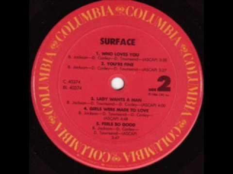 SURFACE - Feels so good (1986)