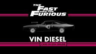 F&F :Vin Diesel Cars in GTAO / Carros de Velozes e Furiosos no GTAO - Part 1