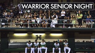 Rainbow Warrior Baseball Celebrates Senior Night