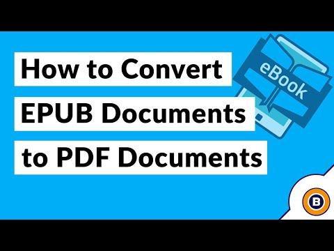 Best EPUB To PDF Converter Tool – Convert EBook To PDF Format