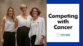 Competing with Cancer: Conversation with Gabriele Grunewald and Dr. Susan Helmrich
