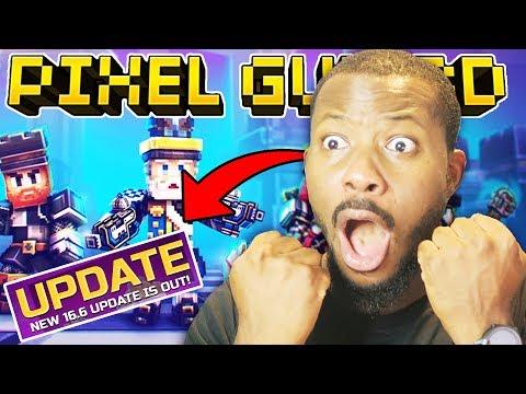 NEW 16.6 UPDATE OUT NOW! L Pixel Gun 3D