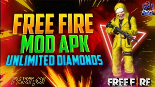 Gambar cover How to Download Free Fire Mod Apk 2019 😱- Free Fire Mod Apk Gameplay🔥