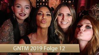 GNTM 2019: Streit mit Simone eskaliert | Amfar Gala für Vanessa | Folge 12
