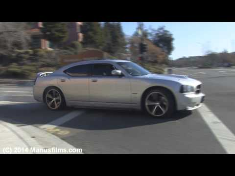 Dodge Charger R/T Small Burnout & Acceleration