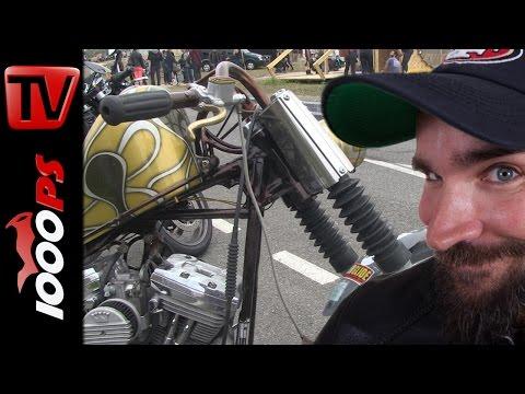 K.OTs Kustoms: Harley Davidson Custombike #1   Wheels and Waves 2015 Foto