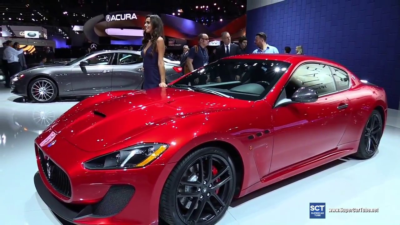 2017 Maserati GranTurismo MC Exterior and Interior ...