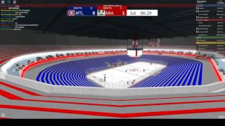 NHL (ROBLOX) ANA @ MTL (OPENING GAME)