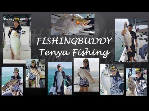 Fishing Buddy Tenya Fishing In Singapore Southern Island