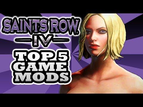 Saints Row 4 Mods - Top 5 - Including the Nude Mod