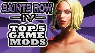Saints Row 4 Mods - Top 5 - Including the Nude Mod