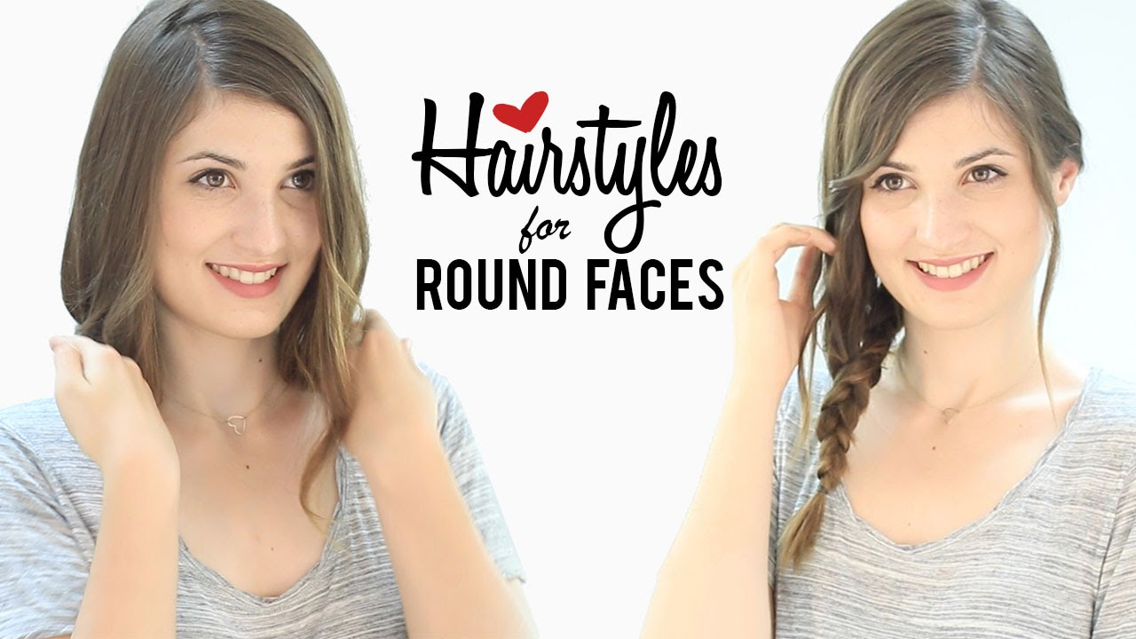 haircuts and hairstyles for round faces   tips and tricks - youtube