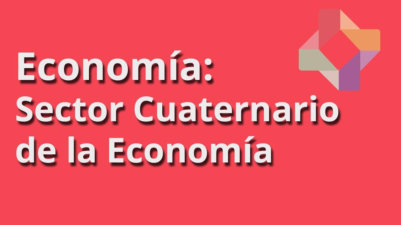 Sector Cuaternario de la Economía