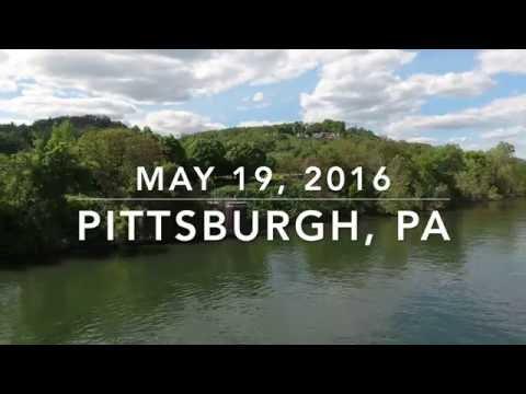 Washington's Landing - DJI Phantom 4 Footage, Pittsburgh PA