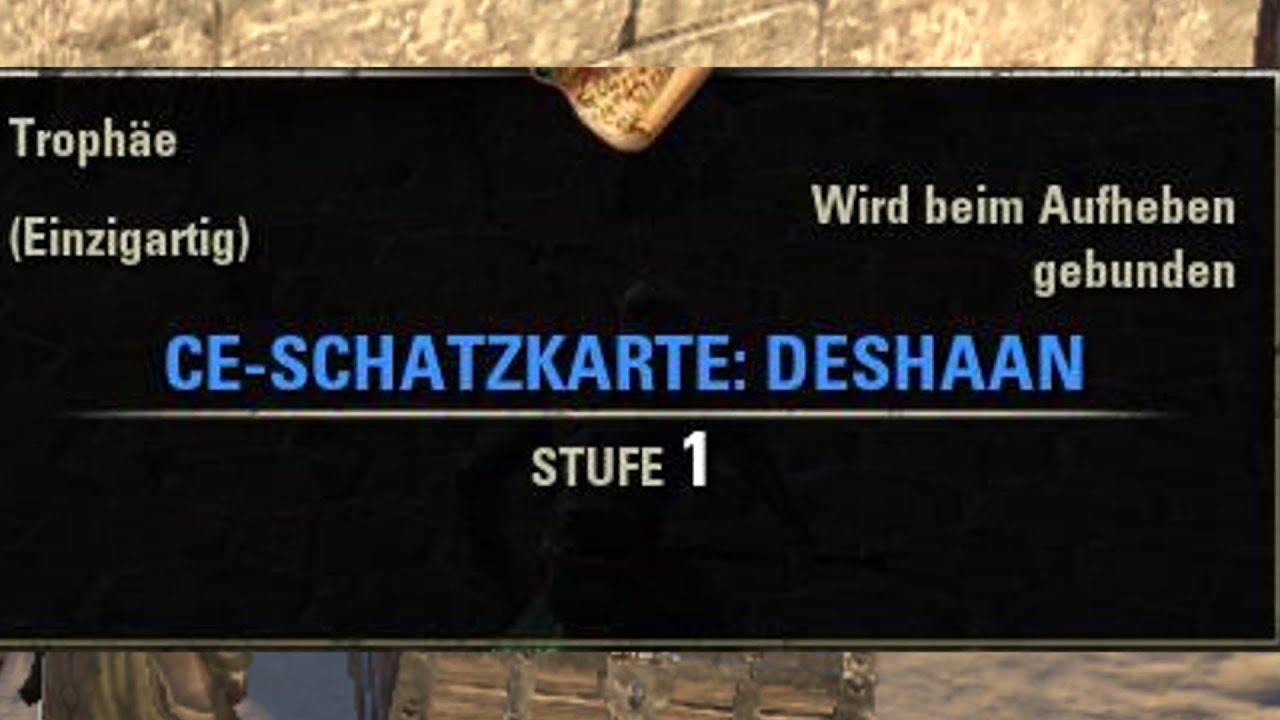 TESO] [Schatzkarten] CE-Schatzkarte: Deshaan | Deshaan CE Treasure on
