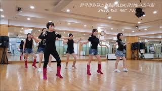 Kiss & Tell -  Line Dance (한국라…
