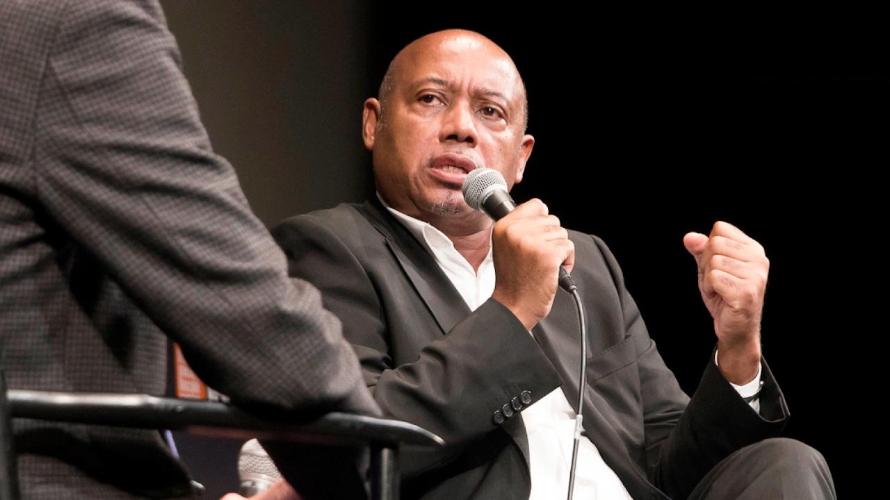 'I Am Not Your Negro' Q&A | Raoul Peck | NYFF54