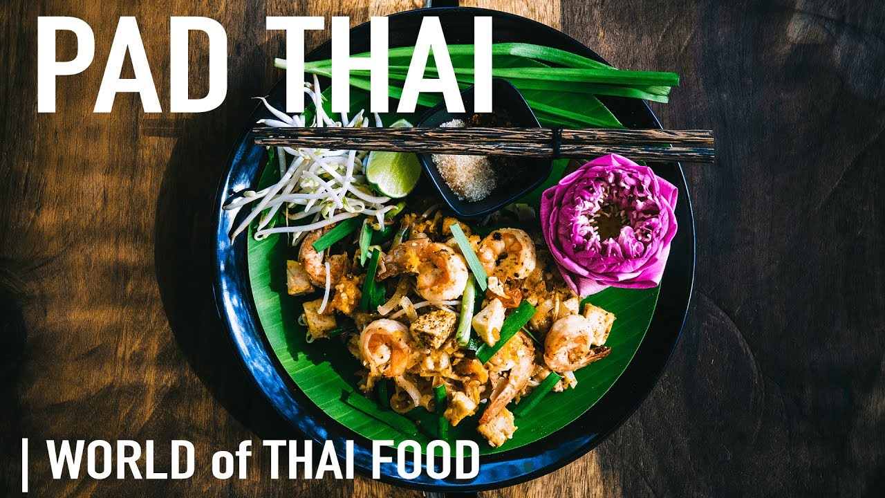 How To Make Pad Thai With Prawns Authentic Thai Food Family