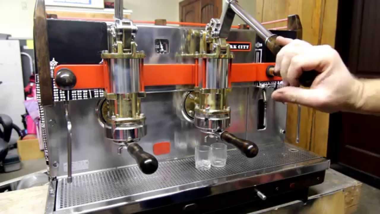 Conti Lever 2 Group Espresso Machine Youtube