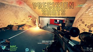 "Battlefield 4 - Sniper Montage ""Precision Shots"" by NoVa Elite"