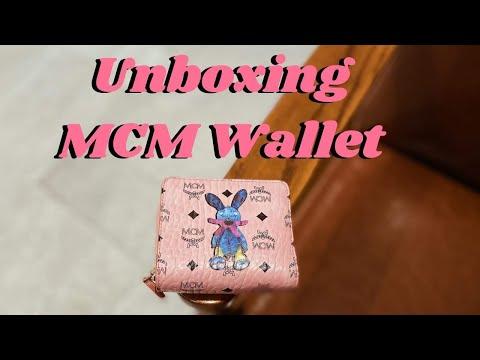 Unboxing MCM Wallet 2019 / รีวิวกระเป๋าสตางค์ MCM / วิธีดู MCM ของแท้   ICETHANCHA