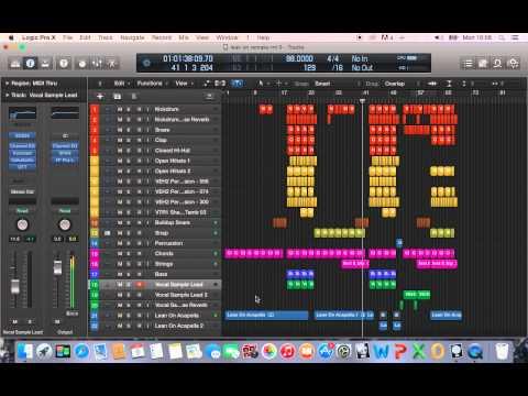 Lean On (MT Remake) Logic Pro X Project FREE DOWNL